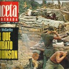 Coleccionismo de Revista Gaceta Ilustrada: GACETA ILUSTRADA. 3 NÚMEROS ENCUADERNADOS. MADRID. 1968. Lote 52127686