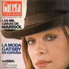Coleccionismo de Revista Gaceta Ilustrada: GACETA ILUSTRADA NUMERO 948. 8 DICIEMBRE 1974. Lote 53836463