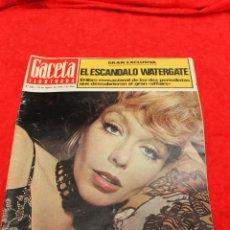 Coleccionismo de Revista Gaceta Ilustrada: REVISTA GACETA ILUSTRADA, Nº 933, 1974 TERESA GIMPERA. ESCANDALO WATERGATE. Lote 54145578