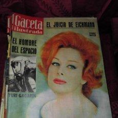 Coleccionismo de Revista Gaceta Ilustrada: MAGNIFICAS REVISTAS ANTIGUAS DE LA GACETA ILUSTRADA EN TOTAL 36 REVISTAS. Lote 54473619