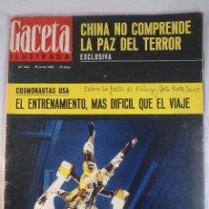 Coleccionismo de Revista Gaceta Ilustrada: REVISTA GACETA ILUSTRADA Nº 454. 19 JUNIO 1965. COSMONAUTAS USA - CHINA NO COMPRENDE PAZ TERROR. Lote 55364238