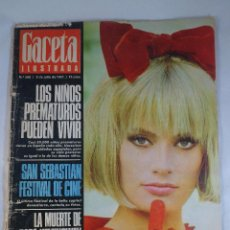 Coleccionismo de Revista Gaceta Ilustrada: REVISTA GACETA ILUSTRADA Nº 560. 2 JULIO 1967. MARISA MELL PORTADA - MUERTE DE PAPA HEMINGWAY. Lote 55364309