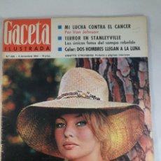 Coleccionismo de Revista Gaceta Ilustrada: REVISTA GACETA ILUSTRADA Nº 426. 5 DICIEMBRE 1964. ANNETTE STROYBERG PORTADA - TERROR STANLEYVILLE. Lote 55364970