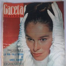 Coleccionismo de Revista Gaceta Ilustrada: REVISTA GACETA ILUSTRADA Nº 479. 11 DICIEMBRE 1965. GERALDINE CHAPLIN PORTADA- ANGEL GANIVET. Lote 55365451