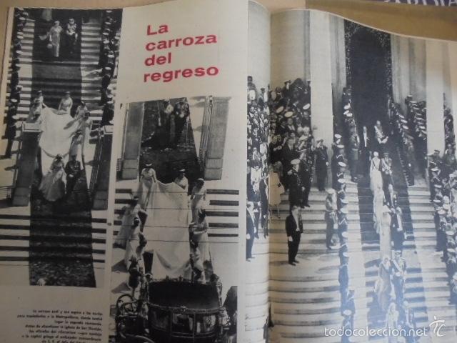 Coleccionismo de Revista Gaceta Ilustrada: GACETA ILUSTRADA EXTRA MAYO 1962-BODA REAL SOFIA Y JUAN CARLOS - IMPECABLE ESTADO - Foto 2 - 28310770