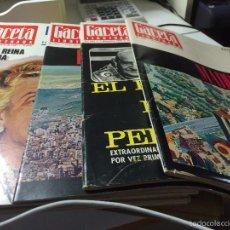 Coleccionismo de Revista Gaceta Ilustrada: REVISTAS GACETA ILUSTRADA. Lote 55992473