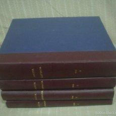 Coleccionismo de Revista Gaceta Ilustrada: GACETA ILUSTRADA AÑO 1969. 4 TOMOS ENCUADERNADOS AÑO COMPLETO A FALTA DE 5 NÚMEROS. Lote 56035106