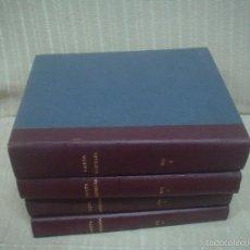 Coleccionismo de Revista Gaceta Ilustrada: GACETA ILUSTRADA AÑO 1972. COMPLETO, ENCUADERNADO EN 4 TOMOS. Lote 56037255