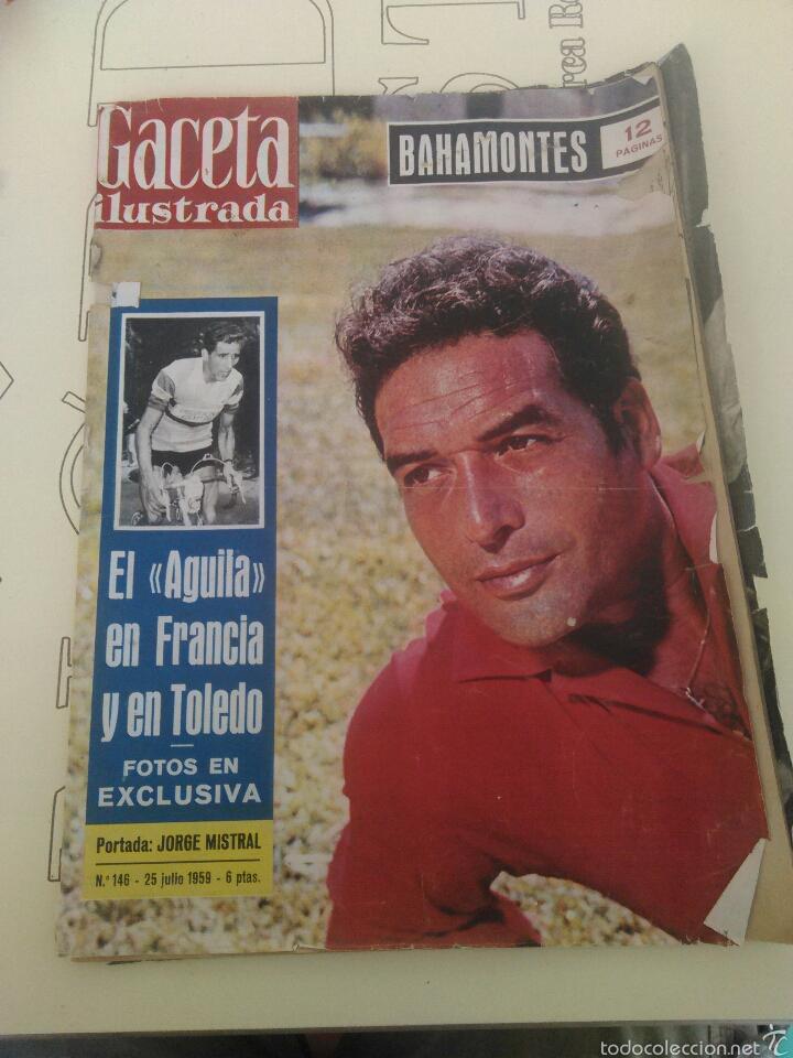 REVISTA GACETA ILUSTRADA N'146 AÑO 1959 BAHAMONTES (Coleccionismo - Revistas y Periódicos Modernos (a partir de 1.940) - Revista Gaceta Ilustrada)