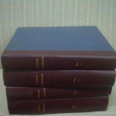 Coleccionismo de Revista Gaceta Ilustrada: GACETA ILUSTRADA AÑO 1973. 4 TOMOS ENCUADERNADOS AÑO COMPLETO A FALTA DEL NÚMERO 874. Lote 56293824