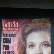 Coleccionismo de Revista Gaceta Ilustrada: GACETA ILUSTRADA Nº 223-1961-ANGIE DICKINSON-GERALDINE CHAPLIN-PAUL GETTY-CUBA-AGUA LAVANDA PUIG. Lote 56554543