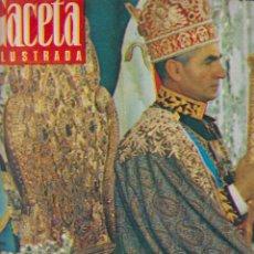 Collectionnisme de Magazine Gaceta Ilustrada: REVISTA GACETA ILUSTRADA. Nº 578. 5 NOVIEMBRE 1967. LA CORONACIÓN. LA OBRA MAESTRA DE FARAH DIBA.. Lote 57044687