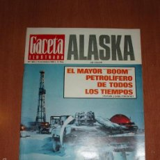 Coleccionismo de Revista Gaceta Ilustrada: GACETA ILUSTRADA Nº 684, AÑO 1969. ALASKA EN COLOR Y EL MAYOR BOOM PETROLIFERO.. Lote 58155065