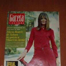 Coleccionismo de Revista Gaceta Ilustrada: GACETA ILUSTRADA Nº 580, AÑO 1967. MARIA BEATRIZ SABOYA, SOFIA LOREN,COCHES DEPORTIVOS.... Lote 58155307