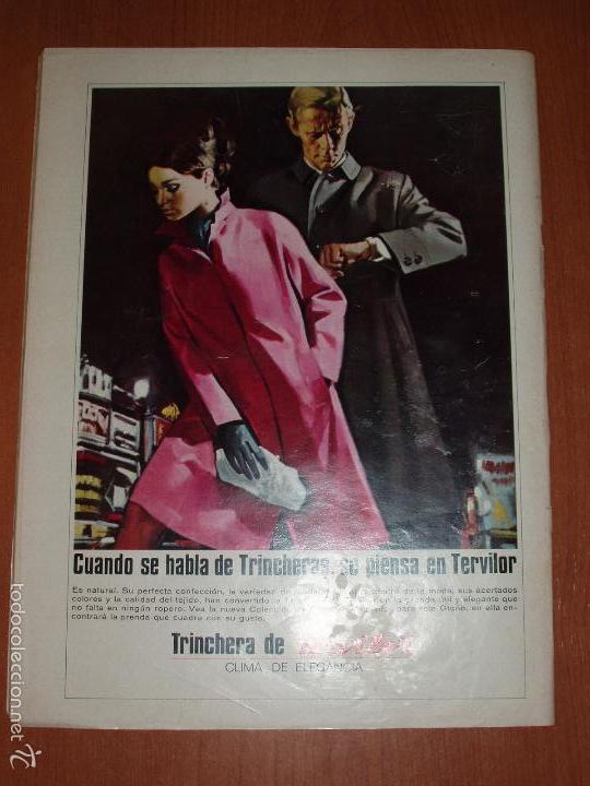 Coleccionismo de Revista Gaceta Ilustrada: GACETA ILUSTRADA Nº 580, AÑO 1967. MARIA BEATRIZ SABOYA, SOFIA LOREN,COCHES DEPORTIVOS... - Foto 2 - 58155307