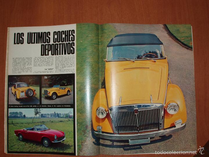 Coleccionismo de Revista Gaceta Ilustrada: GACETA ILUSTRADA Nº 580, AÑO 1967. MARIA BEATRIZ SABOYA, SOFIA LOREN,COCHES DEPORTIVOS... - Foto 3 - 58155307