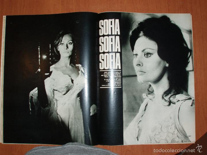Coleccionismo de Revista Gaceta Ilustrada: GACETA ILUSTRADA Nº 580, AÑO 1967. MARIA BEATRIZ SABOYA, SOFIA LOREN,COCHES DEPORTIVOS... - Foto 4 - 58155307