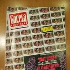 Coleccionismo de Revista Gaceta Ilustrada: REVISTA GACETA ILUSTRADA Nº 532, AÑO 1966. NAVIDAD, WALT DISNEY, LA TERAPEUTICA-MILAGRO.... Lote 58216586