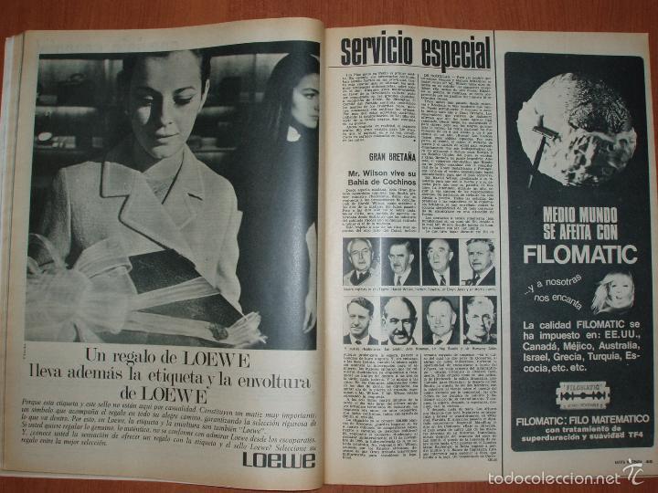 Coleccionismo de Revista Gaceta Ilustrada: REVISTA GACETA ILUSTRADA Nº 532, AÑO 1966. NAVIDAD, WALT DISNEY, LA TERAPEUTICA-MILAGRO... - Foto 2 - 58216586