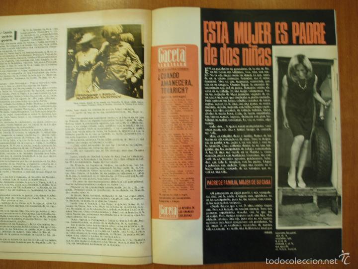 Coleccionismo de Revista Gaceta Ilustrada: REVISTA GACETA ILUSTRADA Nº 567, AÑO 1967. ES EL FIN DEL MUNDO? MUJER PADRE DE DOS NIÑAS.... - Foto 2 - 58216786
