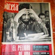 Coleccionismo de Revista Gaceta Ilustrada: Nº 317 OCTUBRE 1962. Lote 58569139