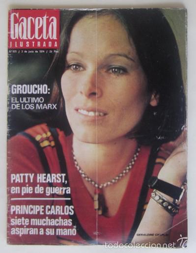 Coleccionismo de Revista Gaceta Ilustrada: DOS REVISTAS GACETA ILUSTRADA DE 1974 - Foto 2 - 60199527