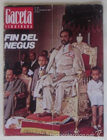 Coleccionismo de Revista Gaceta Ilustrada: DOS REVISTAS GACETA ILUSTRADA DE 1974 - Foto 3 - 60199527