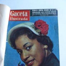 Coleccionismo de Revista Gaceta Ilustrada: REVISTA LA GACETA ILUSTRADA NºS 1 A 20 ENCUADERNADAS EN 1 TOMO. OCTUBRE 1956 A FEB 1957. GRAN FORMAT. Lote 60804739