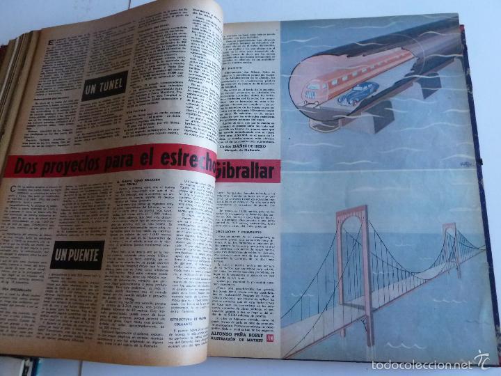 Coleccionismo de Revista Gaceta Ilustrada: REVISTA LA GACETA ILUSTRADA NºS 1 A 20 ENCUADERNADAS EN 1 TOMO. OCTUBRE 1956 A FEB 1957. GRAN FORMAT - Foto 14 - 60804739