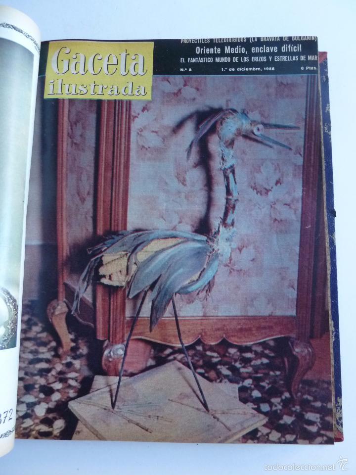 Coleccionismo de Revista Gaceta Ilustrada: REVISTA LA GACETA ILUSTRADA NºS 1 A 20 ENCUADERNADAS EN 1 TOMO. OCTUBRE 1956 A FEB 1957. GRAN FORMAT - Foto 15 - 60804739