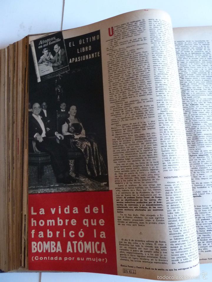 Coleccionismo de Revista Gaceta Ilustrada: REVISTA LA GACETA ILUSTRADA NºS 1 A 20 ENCUADERNADAS EN 1 TOMO. OCTUBRE 1956 A FEB 1957. GRAN FORMAT - Foto 17 - 60804739