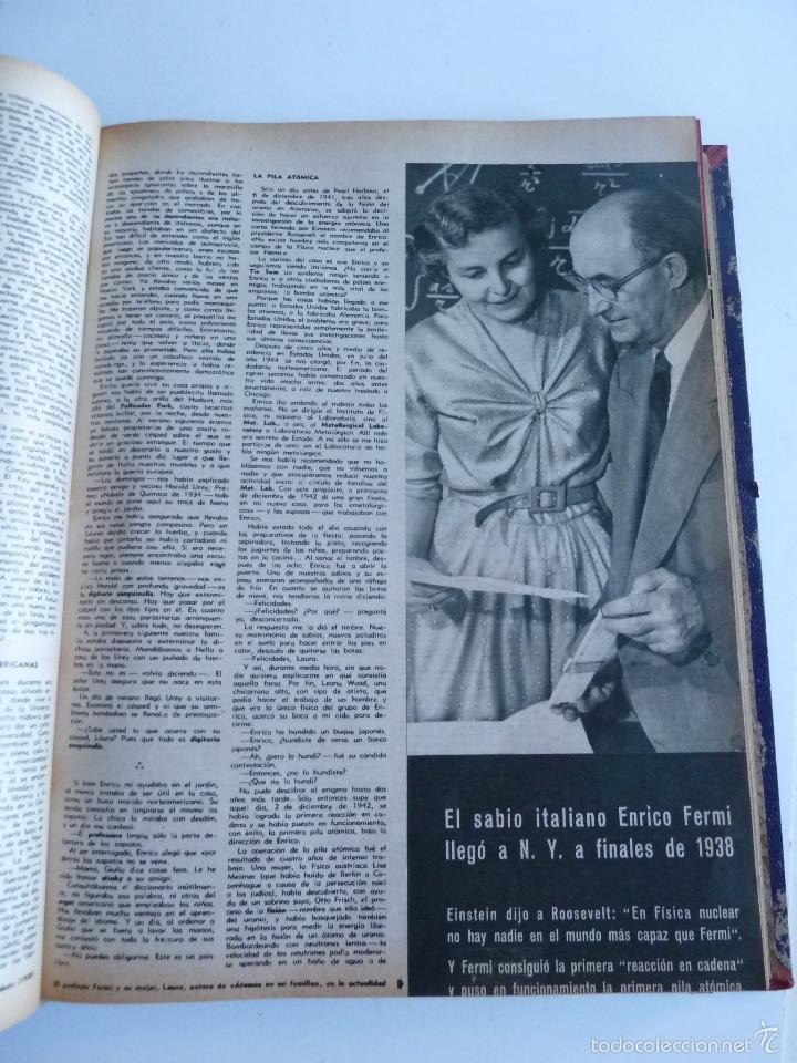 Coleccionismo de Revista Gaceta Ilustrada: REVISTA LA GACETA ILUSTRADA NºS 1 A 20 ENCUADERNADAS EN 1 TOMO. OCTUBRE 1956 A FEB 1957. GRAN FORMAT - Foto 18 - 60804739