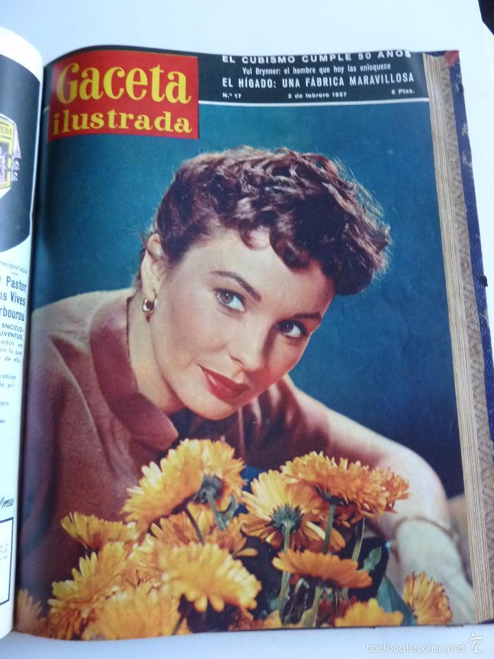Coleccionismo de Revista Gaceta Ilustrada: REVISTA LA GACETA ILUSTRADA NºS 1 A 20 ENCUADERNADAS EN 1 TOMO. OCTUBRE 1956 A FEB 1957. GRAN FORMAT - Foto 31 - 60804739