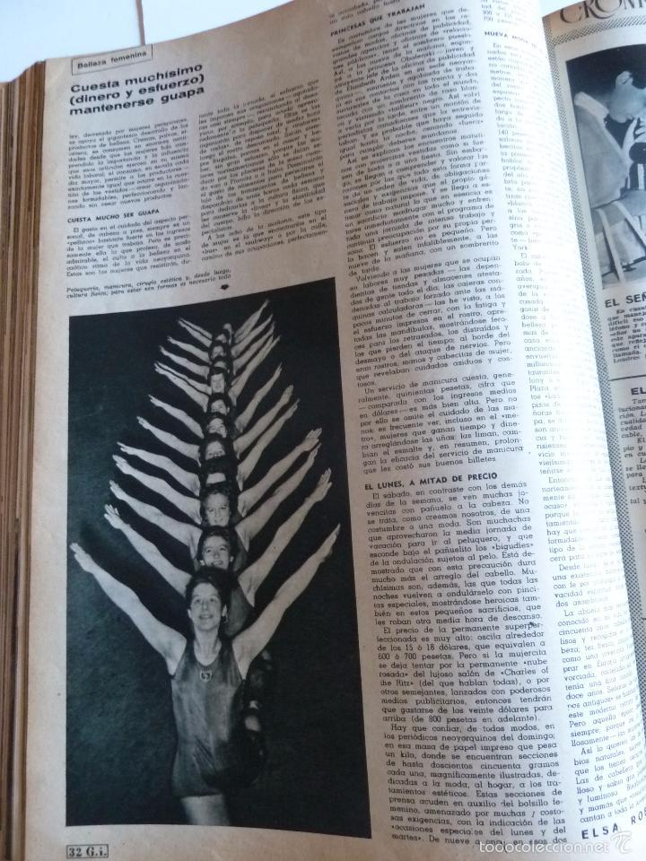 Coleccionismo de Revista Gaceta Ilustrada: REVISTA LA GACETA ILUSTRADA NºS 1 A 20 ENCUADERNADAS EN 1 TOMO. OCTUBRE 1956 A FEB 1957. GRAN FORMAT - Foto 37 - 60804739