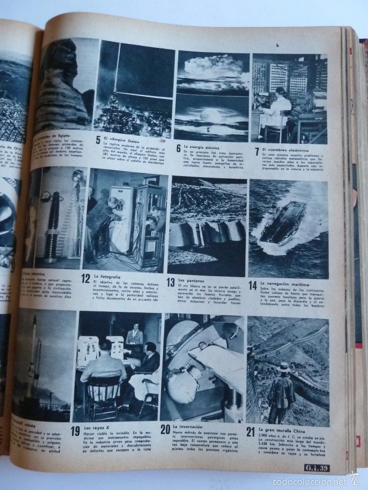 Coleccionismo de Revista Gaceta Ilustrada: REVISTA LA GACETA ILUSTRADA NºS 1 A 20 ENCUADERNADAS EN 1 TOMO. OCTUBRE 1956 A FEB 1957. GRAN FORMAT - Foto 40 - 60804739