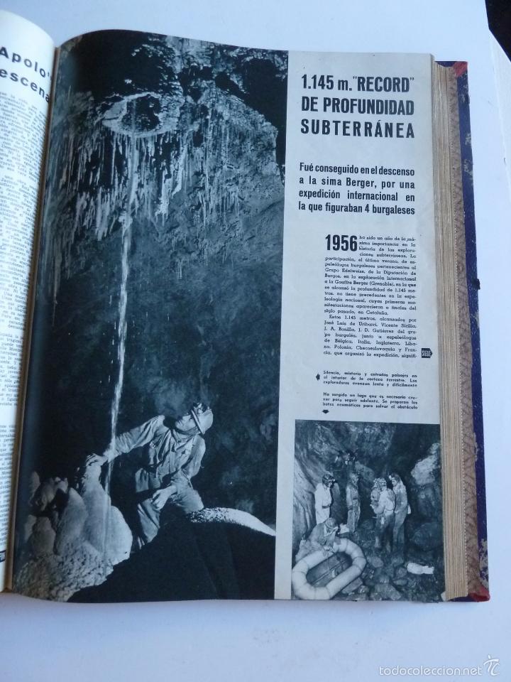 Coleccionismo de Revista Gaceta Ilustrada: REVISTA LA GACETA ILUSTRADA NºS 1 A 20 ENCUADERNADAS EN 1 TOMO. OCTUBRE 1956 A FEB 1957. GRAN FORMAT - Foto 41 - 60804739