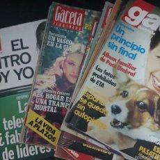 Coleccionismo de Revista Gaceta Ilustrada: LOTE 10 REVISTAS GACETA ILUSTRADA (LOLA FLORES). Lote 61319457
