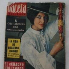 Coleccionismo de Revista Gaceta Ilustrada: REVISTA GACETA ILUSTRADA Nº 311 – CABO CAÑAVERAL RUSO – PORTADA ELEONORA ROSSI DRAGO . Lote 61364643