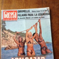Coleccionismo de Revista Gaceta Ilustrada: GACETA ILUSTRADA 1025, 30 MAYO 1976. Lote 61477114
