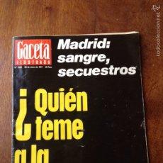 Coleccionismo de Revista Gaceta Ilustrada: GACETA ILUSTRADA 1060, 30 DE ENERO 1977. Lote 61477310