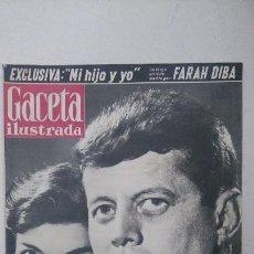 Coleccionismo de Revista Gaceta Ilustrada: ANTIGUA GACETA ILUSTRADA,KENNEDY PRESIDENTE.. Lote 63096556
