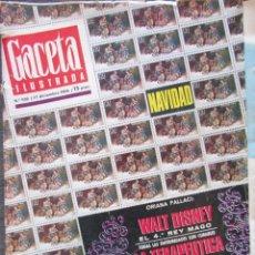 Collectionnisme de Magazine Gaceta Ilustrada: GACETA ILUSTRADA Nº 532. 1966. WALT DISNEY, EL NUEVO CINE ESPAÑOL, JERUSALEM DE JESUCRISTO, TAROT.. Lote 63354676
