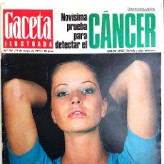 Coleccionismo de Revista Gaceta Ilustrada: REVISTA GACETA ILUSTRADA / MAYO 1971.. Lote 63646355