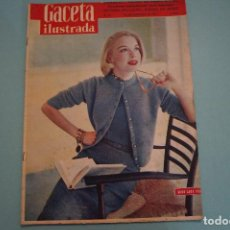 Coleccionismo de Revista Gaceta Ilustrada: GACETA ILUSTRADA:ADENAUER,TURISTA EN ESPAÑA,LA LEYENDA EN LOS SELLOS DE CORREOS,DI STEFANO,CHARLOT,. Lote 65812654