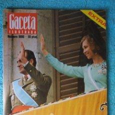 Coleccionismo de Revista Gaceta Ilustrada: REVISTA GACETA ILUSTRADA Nº 1000 ,AÑO 1975 ,EUROPA CON LOS REYES -EL DERECHO A MORIR -ANGOLA. Lote 67994757