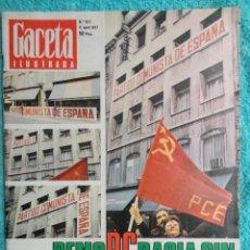 Coleccionismo de Revista Gaceta Ilustrada: REVISTA GACETA ILUSTRADA Nº 1071 AÑO 1977 -PCE.-ABERRI-EGUNA 77 -UGT-USO -YUGOSLAVIA -DIVINE ,. Lote 69701521