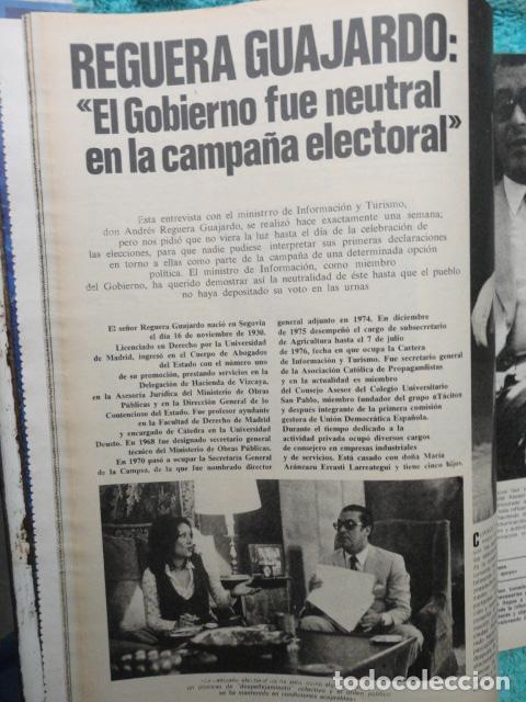 Coleccionismo de Revista Gaceta Ilustrada: REVISTA GACETA ILUSTRADA ,Nº 1080 AÑO 1.977,GANO EL CENTRO -PRESOS SOCIALES -PARO E INFLACION - Foto 4 - 69706109