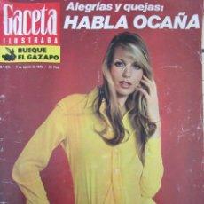 Collectionnisme de Magazine Gaceta Ilustrada: GACETA ILUSTRADA 878. 1973. VERUSCHKA, OCAÑA, CHAGALL, SANGRE ARTIFICIAL.. Lote 69844049