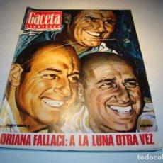Coleccionismo de Revista Gaceta Ilustrada: GACETA ILUSTRADA Nº 685 NOVIEMBRE 1969 - SALVADOR DALÍ - COCÓ CHANEL (VER FOTOS). Lote 70442845