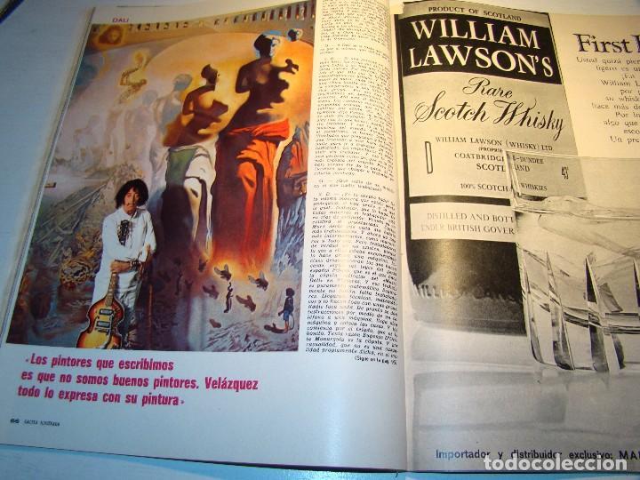 Coleccionismo de Revista Gaceta Ilustrada: GACETA ILUSTRADA nº 685 Noviembre 1969 - SALVADOR DALÍ - COCÓ CHANEL (ver fotos) - Foto 10 - 70442845